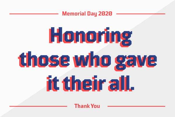 Honoring those who gave their all