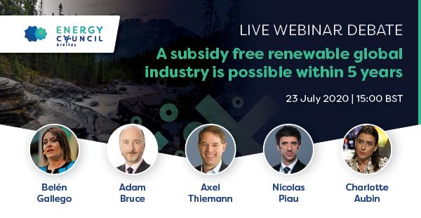 subsidy free renewable industry in five years debate