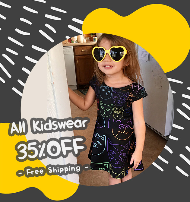 All Kidswear 35% off with free shipping!