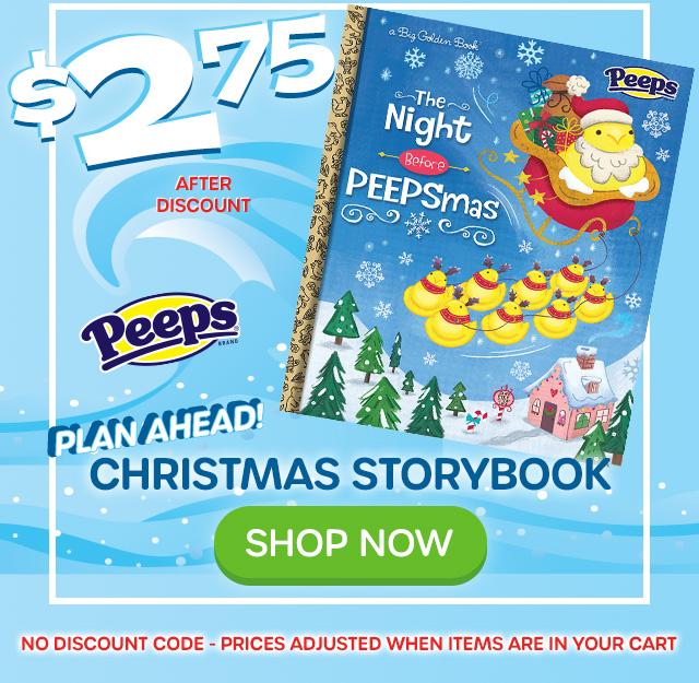 $2.75 -The Night Before PEEPSmas Children''s Book - SHOP NOW