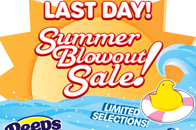 ENDS TONIGHT -- SUMMER BLOWOUT SALE!!! No discount code needed - reduced prices shown when items placed in shopping bag. Limited Selections