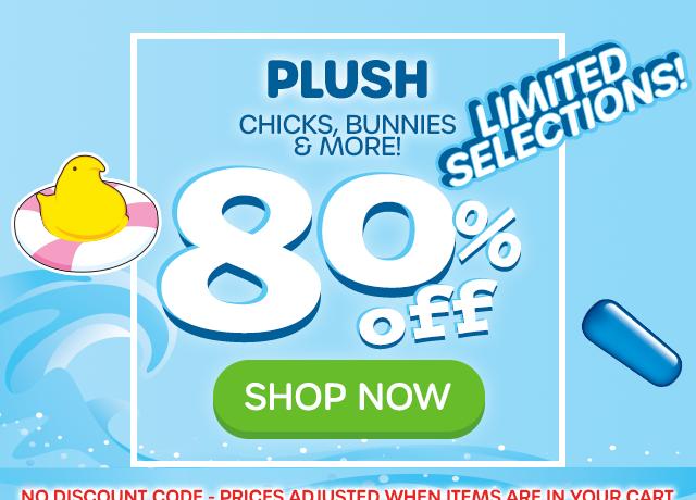 PLUSH - Chicks, BUnnies & More - 75% off - SHOP NOW