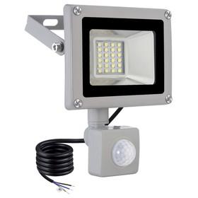 20W 1600 Lumens Outdoor LED Spotlight With Sensor Cool White