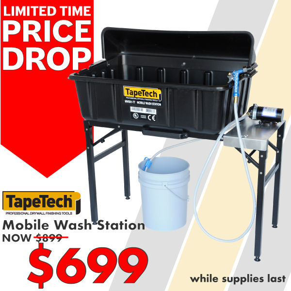 TapeTech Mobile Wash Station on sale for $699