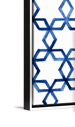 Holiday Decor Hanukkah Pattern by Victoria Borges