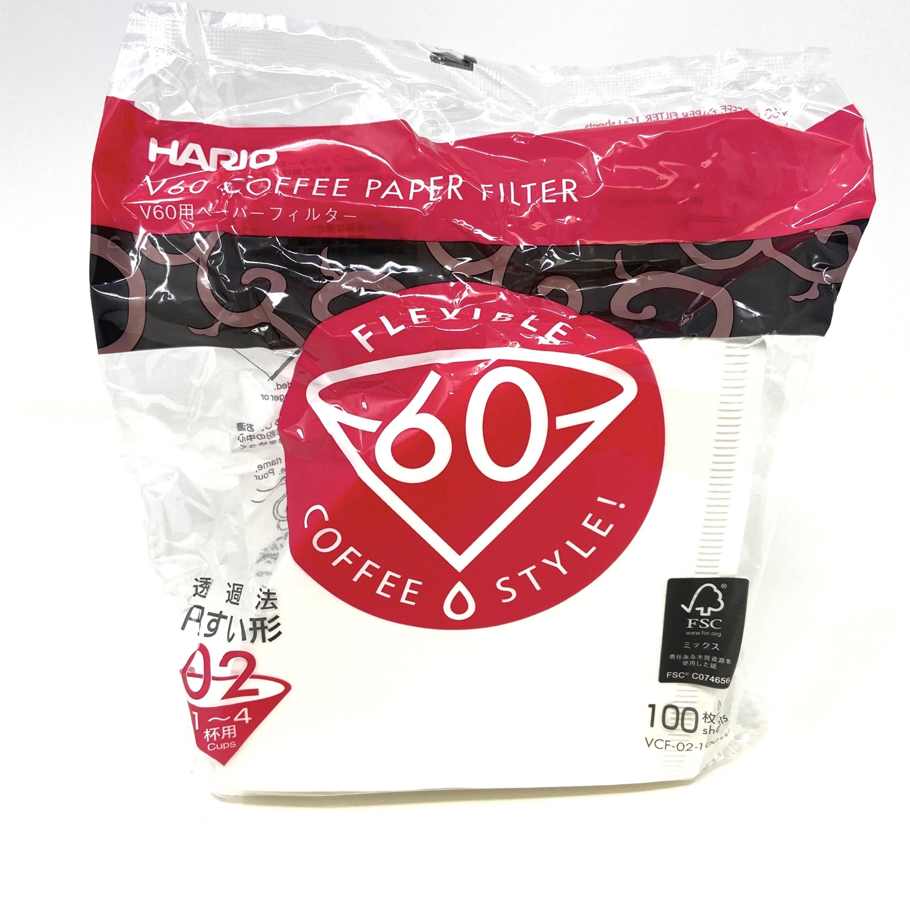 Hario V60-02 Filters (100 Pack)