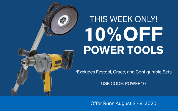10% Off Power Tools