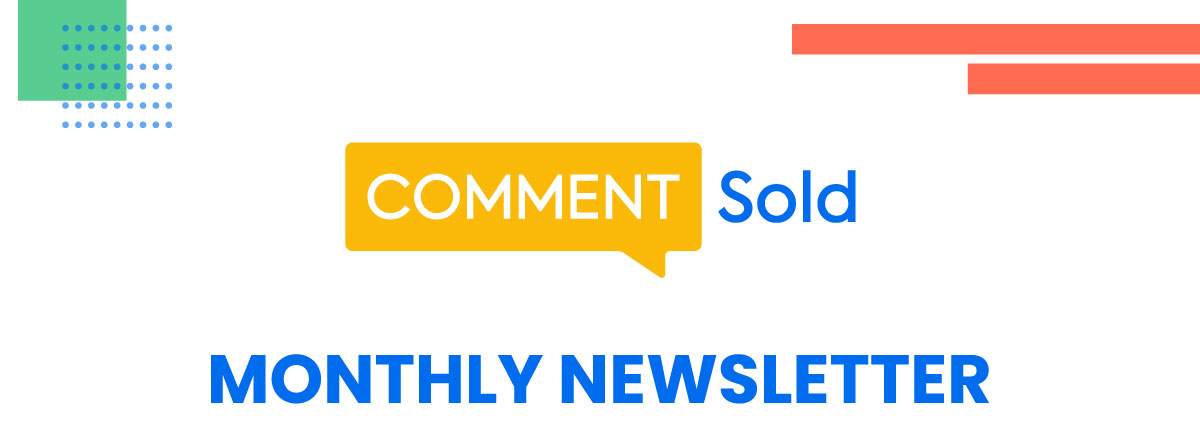 CommentSold's Monthly Newsletter
