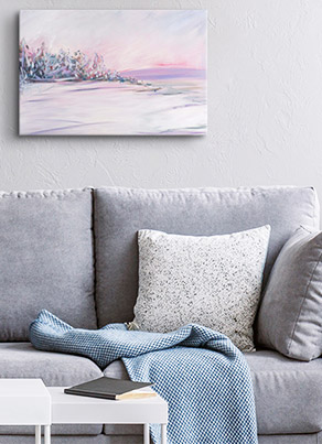 Blush Winter by Circle Art Group