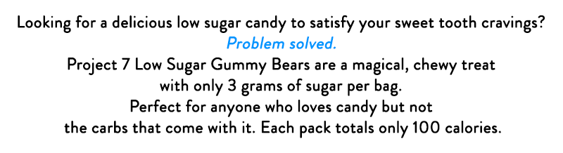 Looking for a delicious low sugar candy?