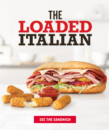 THE LOADED ITALIAN  SEE THE SANDWICH