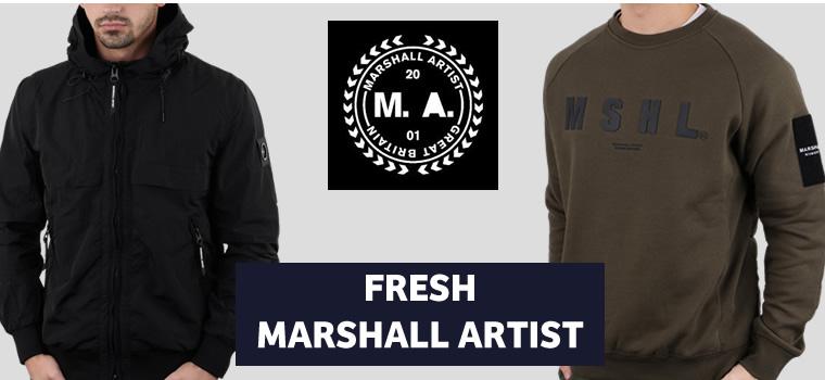 Marshall Artist Jacket & Sweat