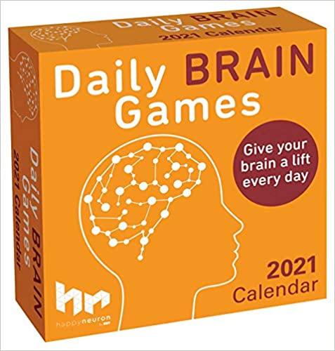 2021 Daily Brain Games Calendar!