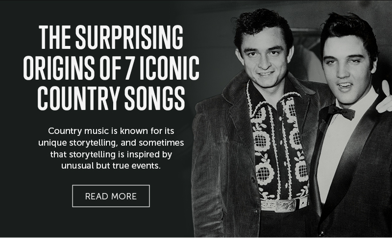 The Surprising Origins of 7 Iconic Country Songs