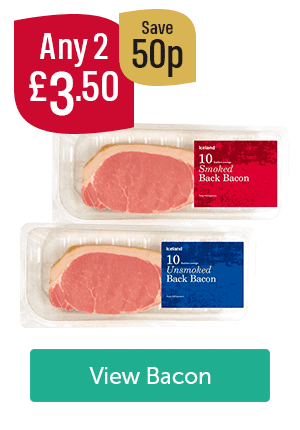 Any 2 �50 Save 50p Iceland Unsmoked Bacon 10 Pack Iceland Smoked Bacon 10 Pack View Bacon