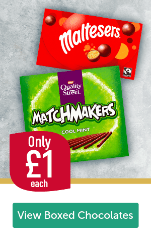 Only �each Maltesers Quality Street Matchmakers Cool Mint View Boxed Chocolates