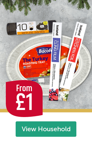 From �Refuse Sacks 10 Pack Bacofoil The Turkey Roasting Tray Iceland Cling Film Iceland Kitchen Foil View Household