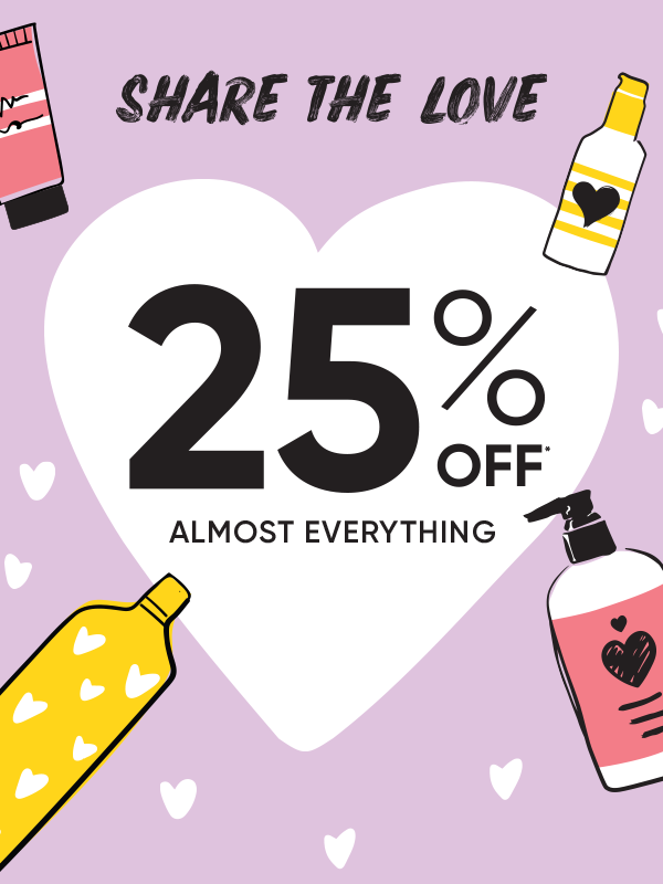 Share The Love 25% Off