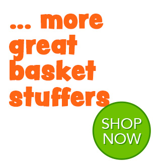 More Great basket stuffers - SHOP NOW