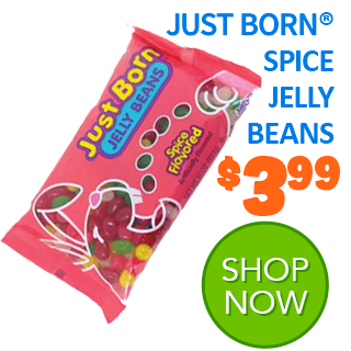Just Born Spice Flavored Jelly Beans