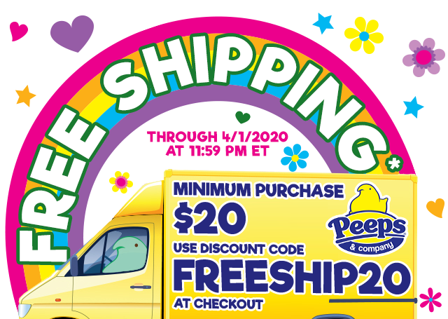FREE SHIPPING through 4/1/2020 at 11:59 PM ET. Minimum $20 purchase. Use Discount Code FREESHIP20 at checkout