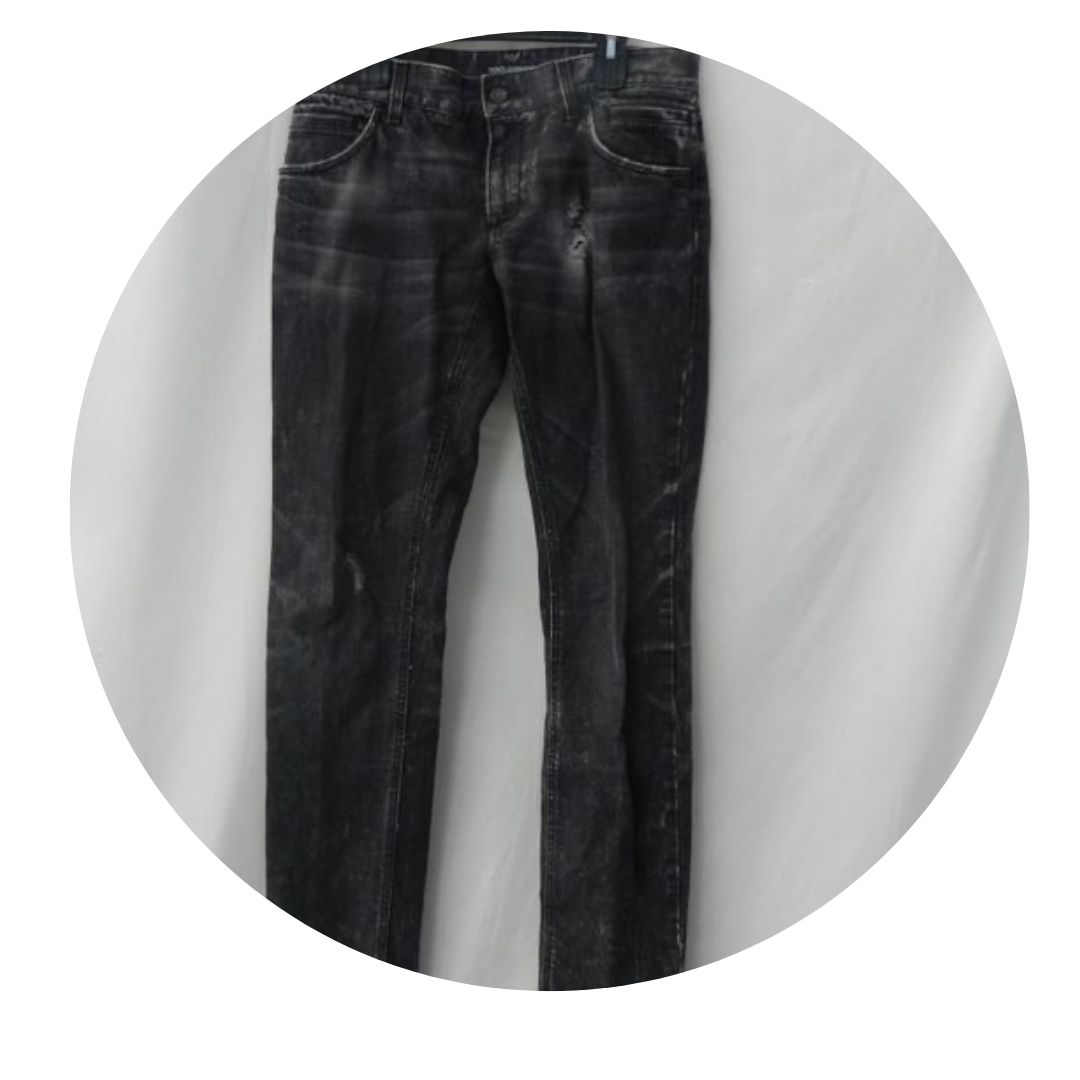 Dolce & Gabbana Charcoal Tone Jeans