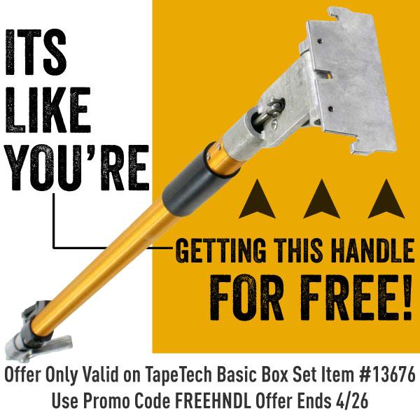 Save $329 on the TapeTech Basic Box Set TTBBS