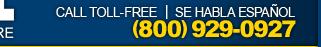Call toll-free - Se Habla Espanol - 1-800-929-0927