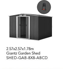 SHED-GAB-8X8-ABCD