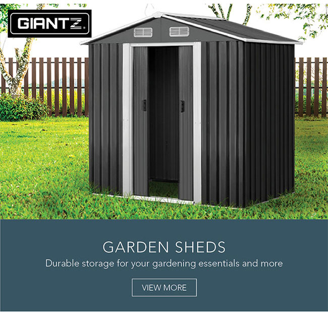 Durable storage for your gardening essentials and more
