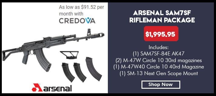 SAM7SF-84E 7.62x39 rifle,  Enhanced FCG, 2 30 rd magazines, 1ea 40rd Mag, SM-13 Scope Mount