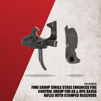 FIME Group Enhanced Fire Control Group for AK and RPK Based Rifles with Stamped Receivers