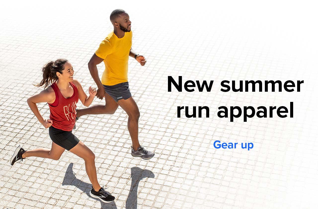 New summer run apparel   Gear Up