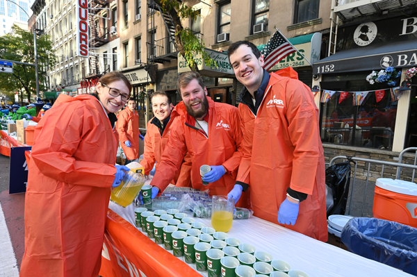 NYRR's Loyal Volunteers Tell Us Why They Keep Coming Back