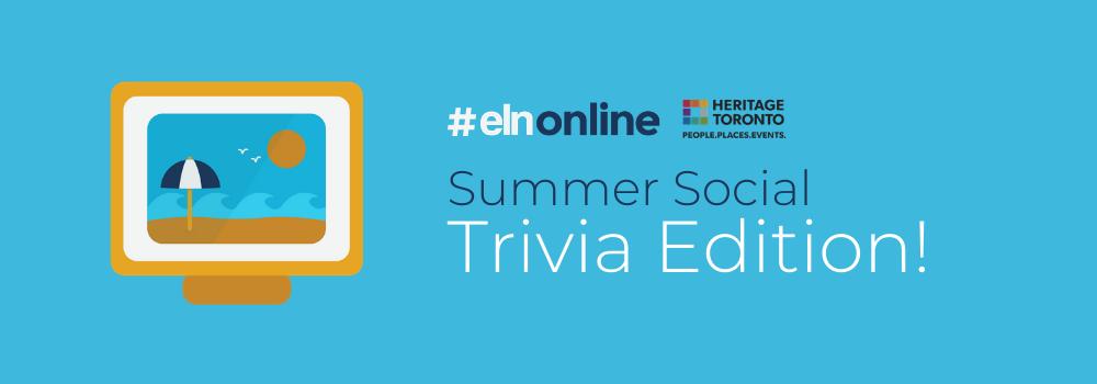 ELNonline: Summer Social, Trivia Edition
