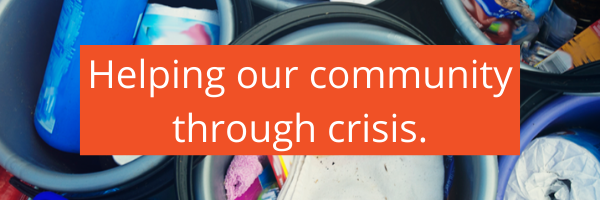 Helping our community through crisis