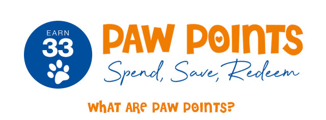 Earn Paw Points