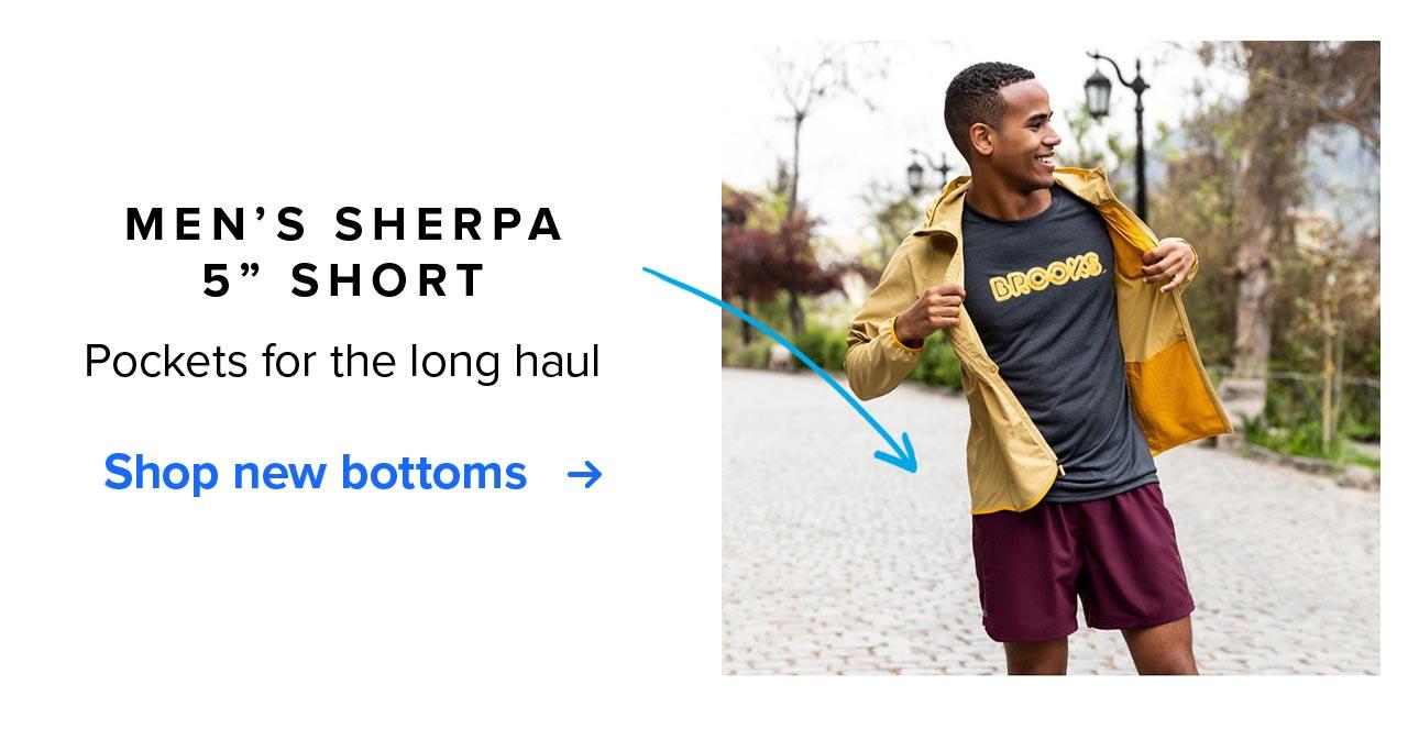 MEN''S SHERPA 5 INCH SHORT   Pockets for long haul   Shop new bottoms
