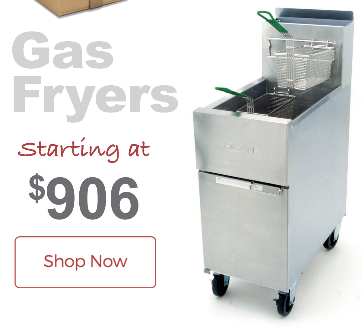 All Frymaster Gas Fryers ship free