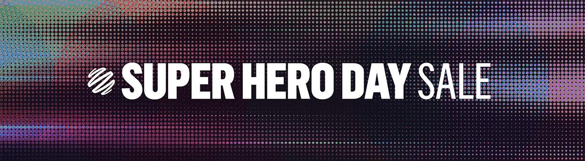 National Superhero Day Sale