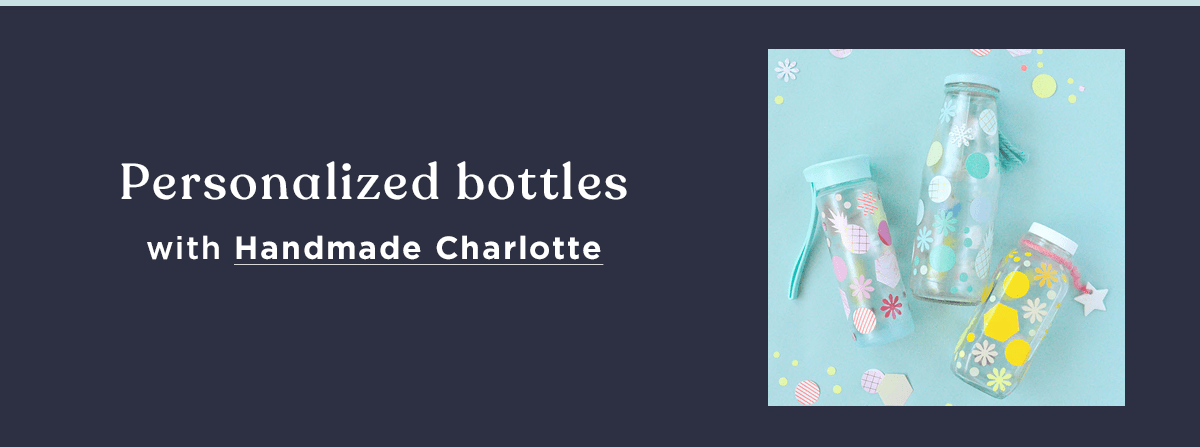 decorate your reusable water bottles