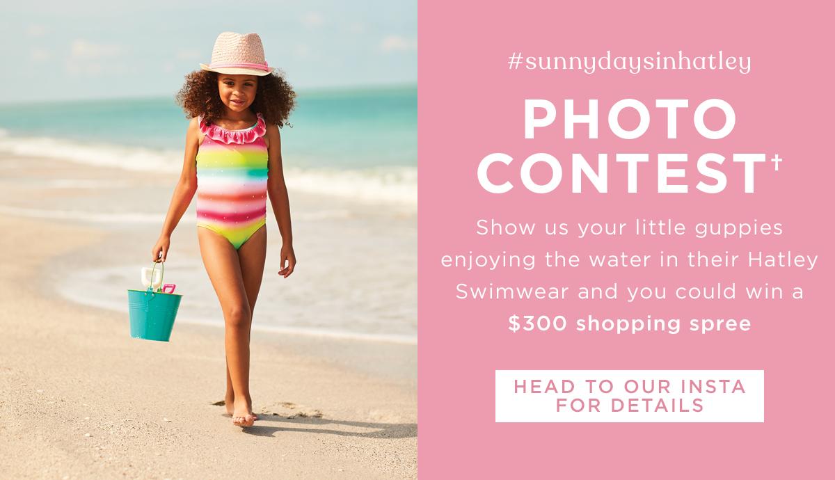 Instagram swim contest
