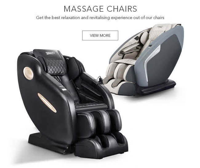 Get the best relaxation and revitalising experience out of our chairs