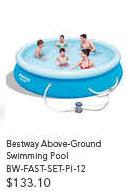 Bestway Above-Ground Swimming Pool