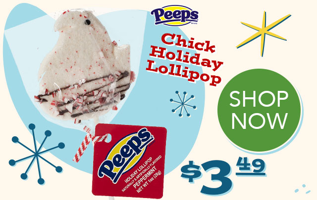 PEEPS Chick Holiday Lollipop - $3.49 - SHOP NOW