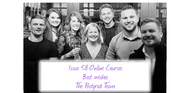 ISSUE 58: Online Courses