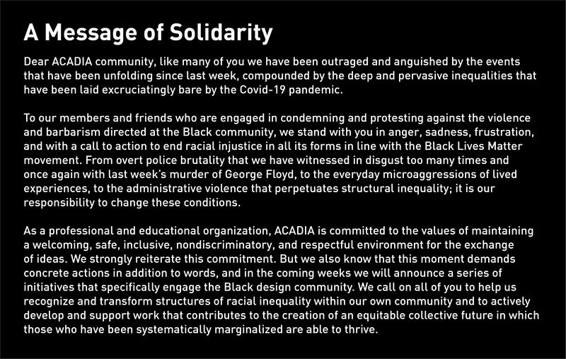 Solidaritymessage 200603