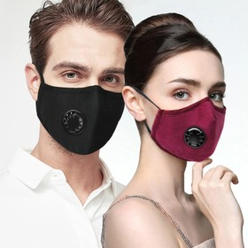 Reusable Activated Carbon Face Mask Black