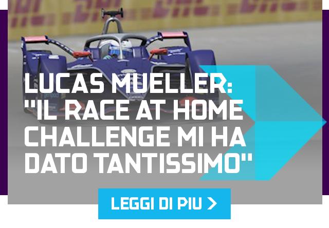 "Lucas Mueller: ""Il Race at Home Challenge mi ha dato tantissimo"""