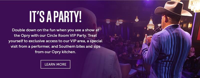 Circle Room VIP Party